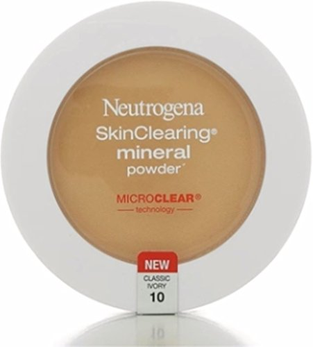 Neutrogena - Neutrogena Skinclearing Mineral Powder, Classic Ivory 10.34 Oz