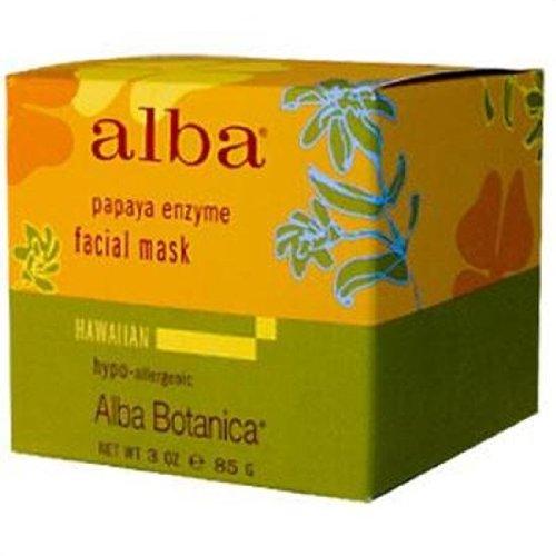 Alba Botanica - Hawaiian Facial Mask, Pore-fecting Papaya Enzyme