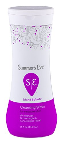 Summer's Eve - Summer's Eve Cleansing Wash | Island Splash | 15 Ounce | Pack of 12 | pH-Balanced, Dermatologist & Gynecologist Tested