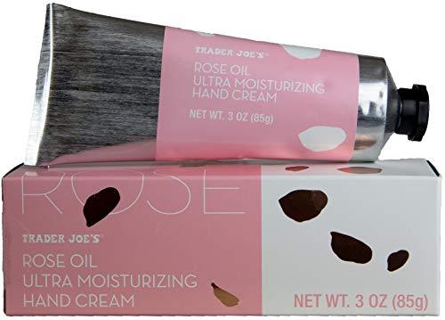 Turning to Wellness - Rose Essential Oil Hand Cream - Trader Joe's Ultra Moisturizing Lotion (1 Tube)