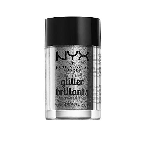 NYX - Face & Body Glitter, Silver