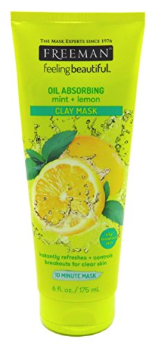 Freeman - Facial Mint & Lemon Clay Mask