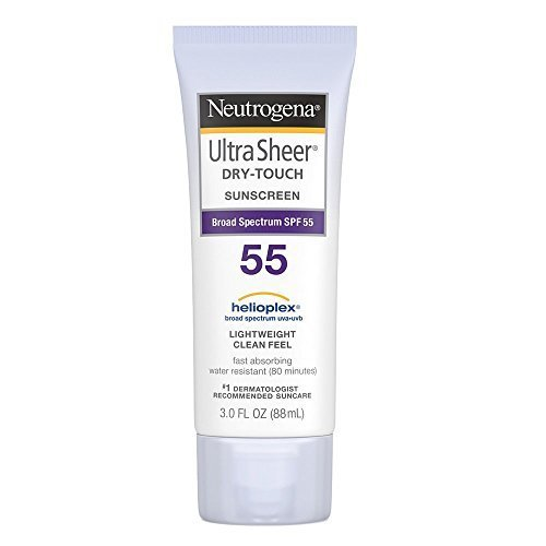 Neutrogena - Neutrogena Ultra Sheer Dry-Touch Sunscreen, SPF 55, 3 Ounces (Pack of 2)