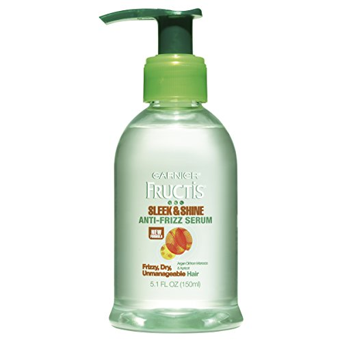 Garnier - Sleek & Shine Anti-Frizz Serum, Frizzy, Dry, Unmanageable Hair