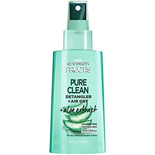 Garnier - Pure Clean Detangler + Air Dry, Aloe Extract