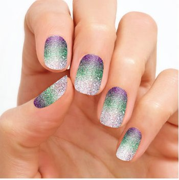 """Color Street  """"Pacific Waters"""" Nail Polish Strips"""
