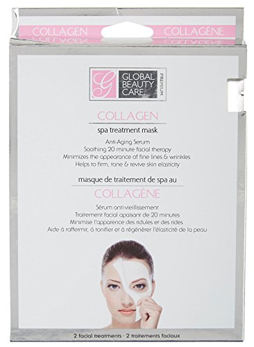 Global Beauty Care Premiu - Global Beauty Care - 2 per-pk Collagen Spa Treatment Masks