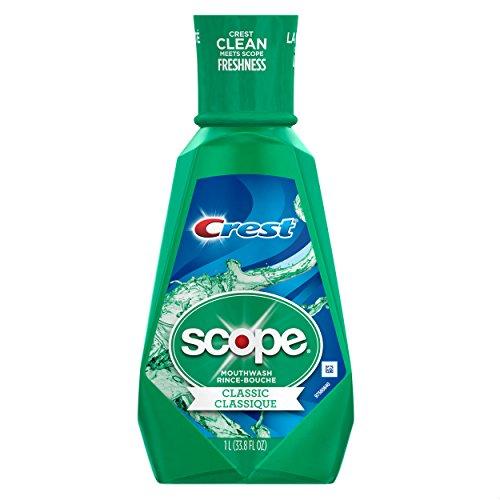 Crest - Scope Classic Mouthwash Original Formula, 33.8 oz