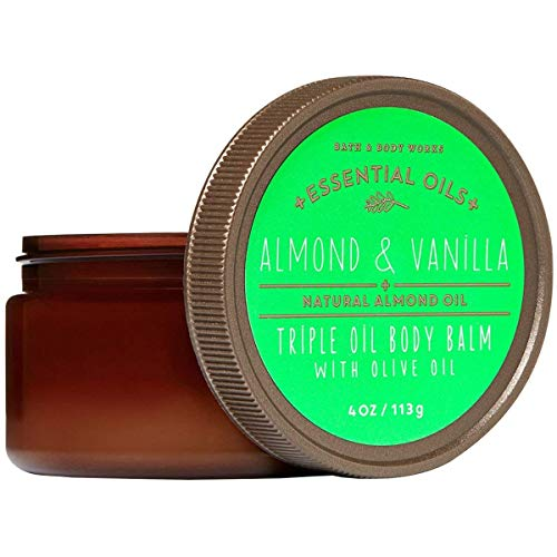 Bath and Body Works - Triple Olive Oil Balm Almond Vanilla