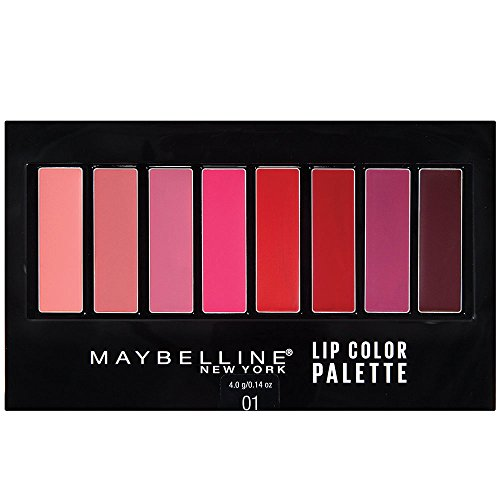 Maybelline New York - Maybelline New York Lip Studio Lip Color Palette, 0.14 Ounce