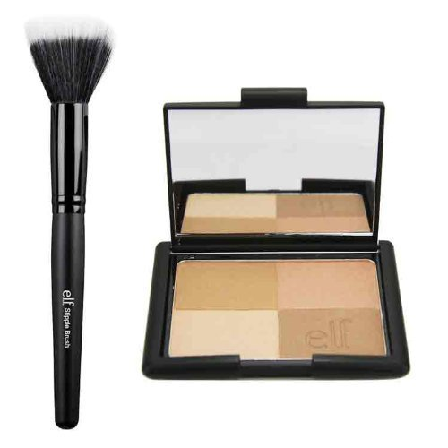 e.l.f. Cosmetics - Golden Bronzers and Stipple Brush