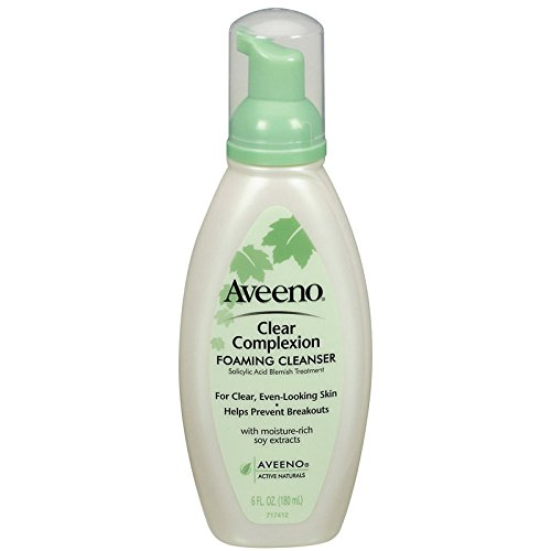 Aveeno Aveeno Clear Complexion Foaming Cleanser, 6 Ounce