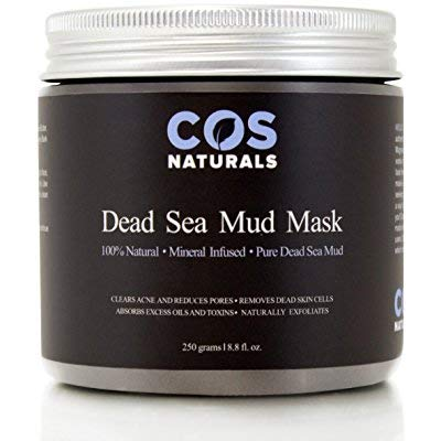 COSNATURALS SKIN CARE - COS Naturals Dead Sea Mud Mask For Face and Body, 8.8 oz.