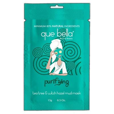 Que Bella - Purifying Tea Tree and Witch Hazel Mud Mask