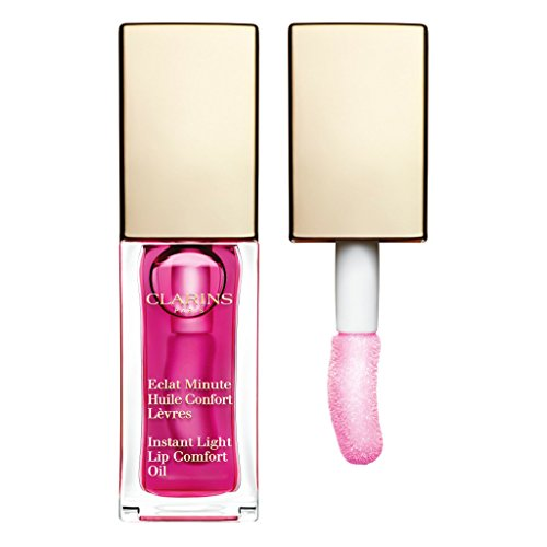 Clarins - Clarins Instant Light Lip Comfort Oil, Raspberry, 0.1 Ounce