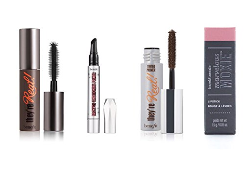 Benefit Cosmetics - benefit cosmetics bag set mini package they are real mascara tinted lash primer browvo conditioning primer travel size