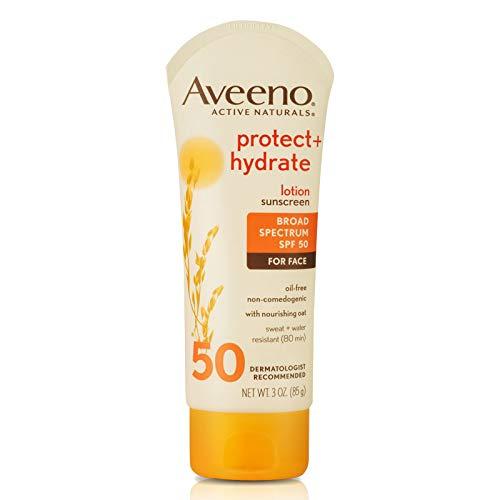 Aveeno - Aveeno Protect + Hydrate Face Moisturizing Sunscreen Lotion
