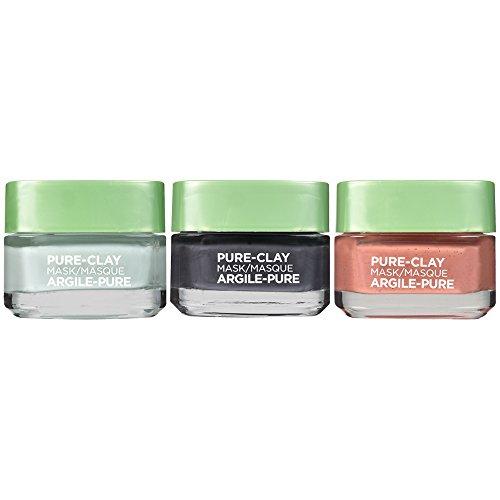 L'Oreal Paris - L'Oreal Paris Skin Care Pure Clay Mask Set