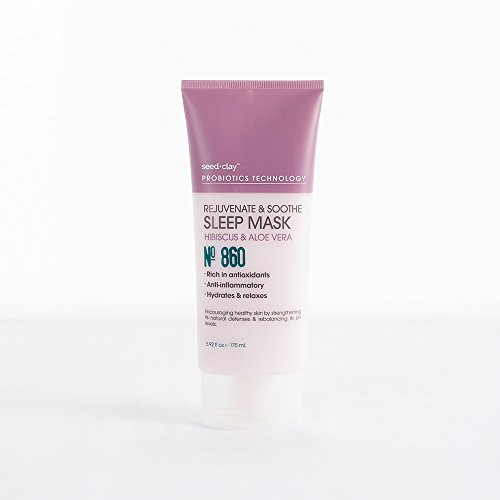 Seed + Clay Probiotics Technology - Rejuvenate & Soothe Sleep Mask