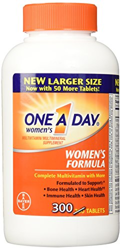 Bayer - One-A-Day Women's Formula Complete Multivitamin 300 Tablets Bone Health Skin Health