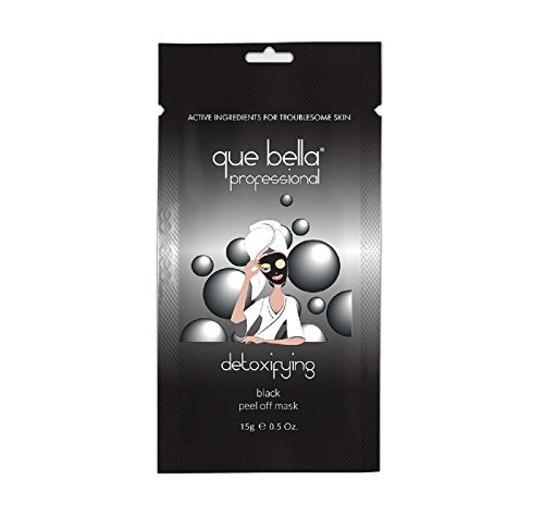 Que Bella PRO - Detoxifying Black Peel Off Mask