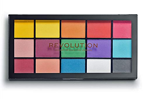 Makeup Revolution - Eyeshadow Palette, Reloaded Marvellous Marvelous Mattes