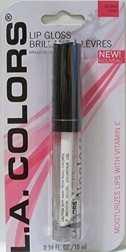 LA Colors - Expressions Lip Gloss, Clear