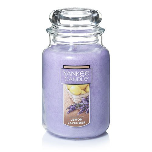 Yankee Candle - Yankee Candle Large Jar Candle ,Lemon Lavender