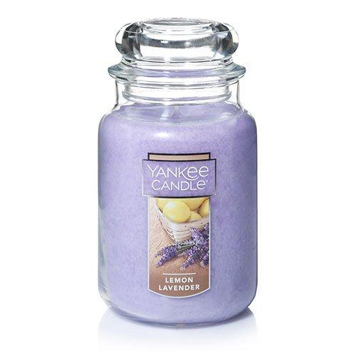 Yankee Candle - Yankee Candle Large Jar Candle ,Lemon Lavender