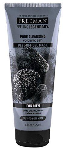 PH Beauty-Freeman - Freeman Mens Pore Cleansing Gel Mask Peel Off 6 Ounce (175ml) (3 Pack)