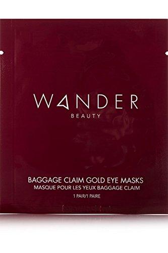 Wander Beauty - Wander Beauty Baggage Claim Gold Eye Masks 1 Pair