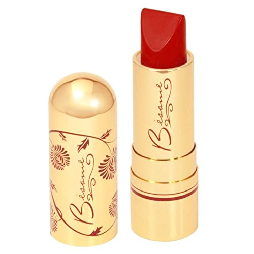 Bésame Cosmetics - Classic Color Lipstick, Victory Red