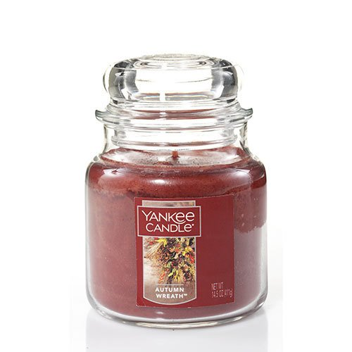 Yankee Candle - Yankee Candle Medium Jar Candle, Autumn Wreath