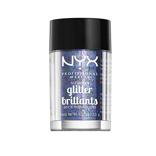 NYX PROFESSIONAL MAKEUP - NYX PROFESSIONAL MAKEUP Face & Body Glitter, Violet, 0.08 Ounce