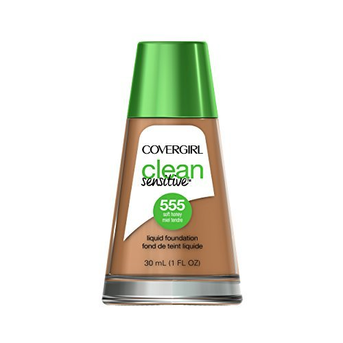 COVERGIRL - CoverGirl Clean Sensitive Skin Liquid Foundation, Soft Honey, 1 Fluid Ounce by COVERGIRL