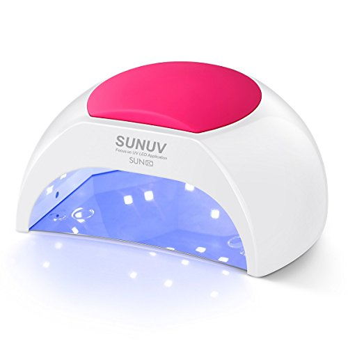 SunUV - SUN2C 48W LED UV nail Lamp with 4 Timer Setting