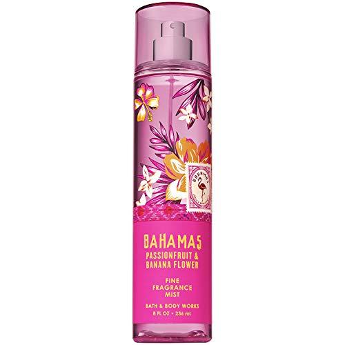 Bath & Body Works - Bath and Body Works BAHAMAS - PINK PASSIONFRUIT & BANANA FLOWER Fine Fragrance Mist 8 Fluid Ounce (2019 Edition)