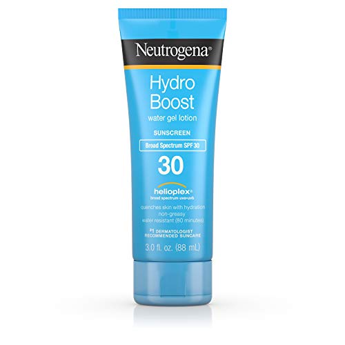 Neutrogena - Neutrogena Hydro Boost Gel Moisturizing Sunscreen Lotion with Broad Spectrum and Water-Resistant, SPF 30, 3 Fluid Ounce (Pack of 3)