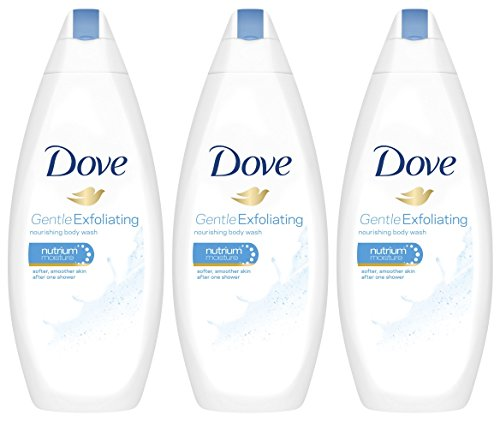 Dove 3 Pk. Dove Gentle Exfoliating Body Wash with Nutrium Moisture 16.9 Oz