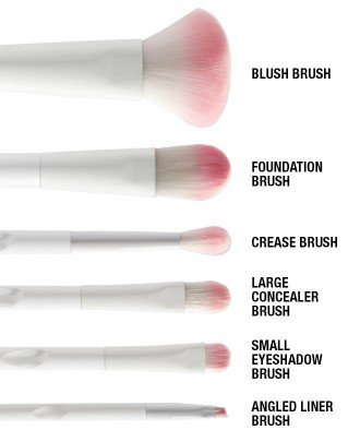 Wet 'n Wild - 6 Piece Brush Set