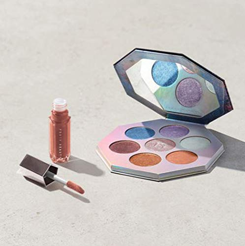 Fenty Beauty - Killawatt Foil Freestyle Highlighter Palette and Gloss Bomb Universal Lip Luminizer in Fenty Glow!