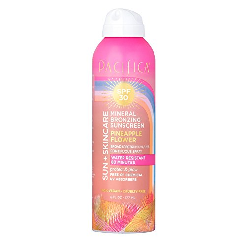 Pacifica - Pacifica Sunscreens mineral bronzing sunscreen pineapple flower SPF 30 6 fl oz, pack of 1
