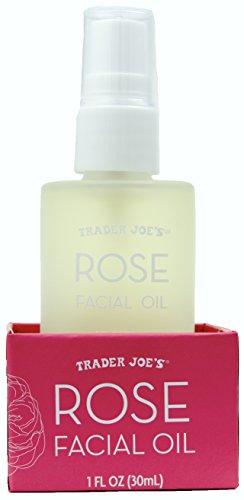 Trader Joe's Rose Facial Oil with Moisturizing Rose Hip Botanicals