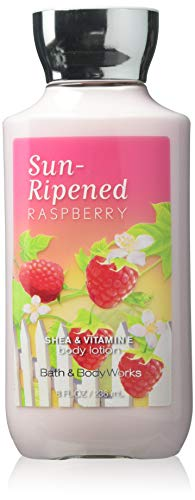Bath & Body Works - Bath & Body Works Sun-ripened Raspberry Shea & Vitamin E Body Lotion, 8 Ounce