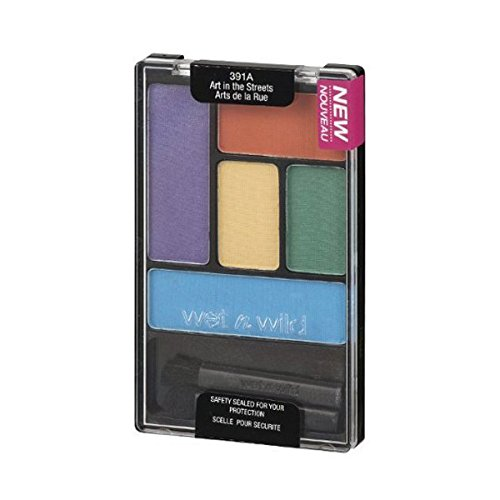 Wet 'n Wild - Color Icon Eyeshadow Palette 5 Pan - Art in the Streets