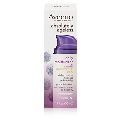 Aveeno Absolutely Ageless Daily Moisturizer With Spf 30
