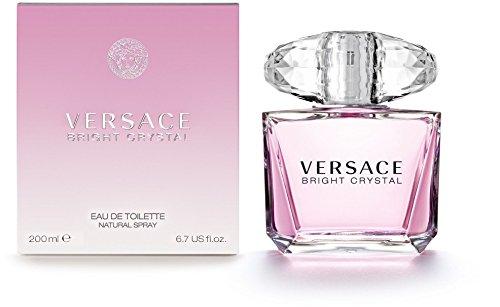 Versace - Versace Bright Crystal Eau de Toilette Spray for Women, 6.7 Ounce