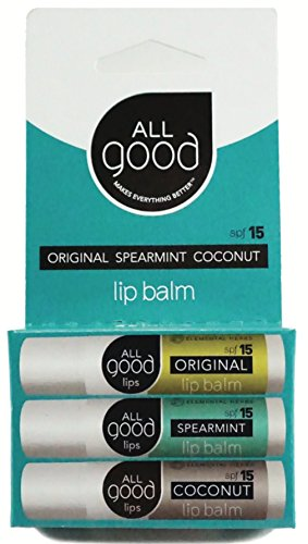All Good - SPF 15 Lip Balm for Soft Smooth Lips