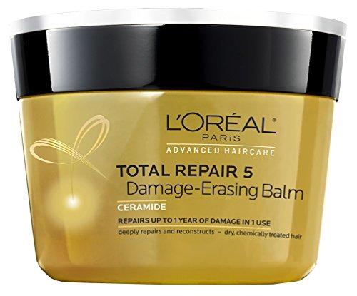 L'Oreal Paris - Loreal Total Repair 5 Damage-Erasing Balm 8.5 Ounce Jar (251ml) (3 Pack)