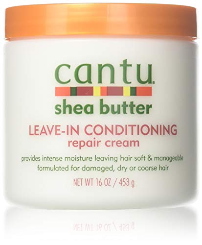 Cantu - Cantu Shea Butter Leave-In Conditioner Repair Cream 16 Ounce (473ml) (3 Pack)